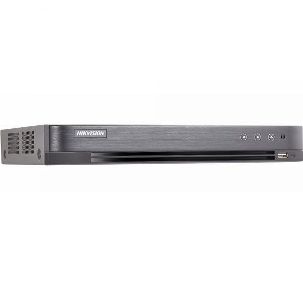 Фото 2 - 4-канальный гибридный видеорегистратор Hikvision DS-7204HQHI-K1/P с поддержкой IP камеры.