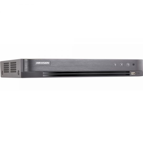 Фото 2 - 4-канальный гибридный видеорегистратор Hikvision DS-7204HUHI-K1/P с поддержкой IP-камер.