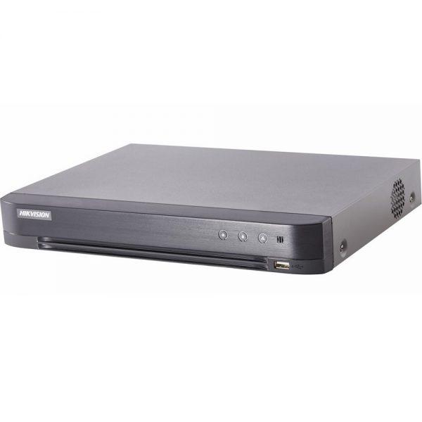 Фото 3 - 8-канальный гибридный видеорегистратор Hikvision DS-7208HQHI-K1 с поддержкой IP камер.