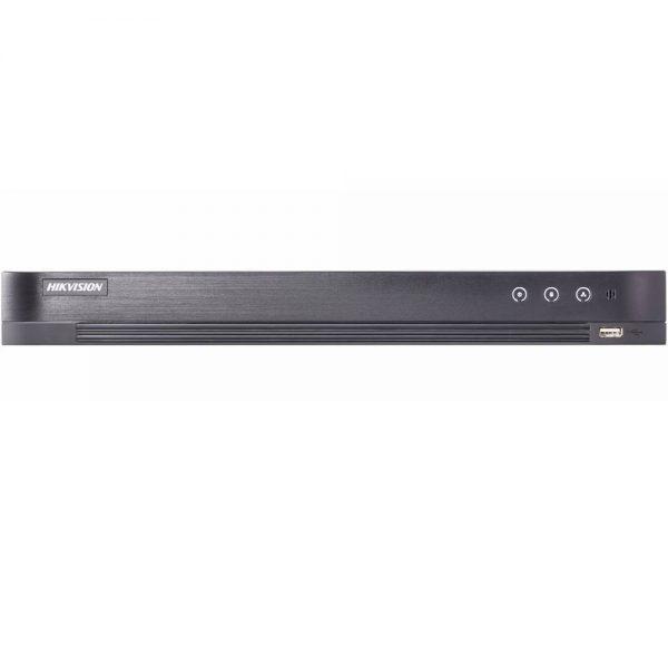 Фото 1 - 8-канальный гибридный видеорегистратор Hikvision DS-7208HQHI-K2/P с поддержкой IP камер.