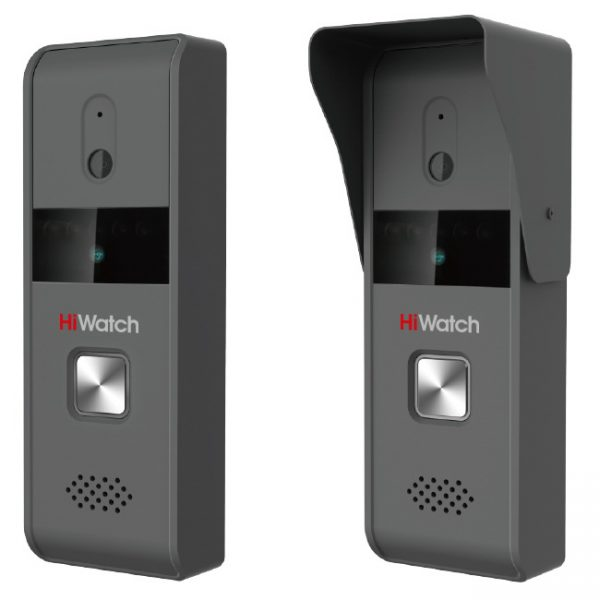 Фото 2 - HiWatch DS-D100K. Аналоговая домофонная система: вызывная панель + монитор.