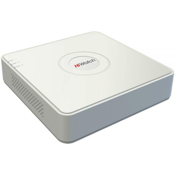 Фото 1 - 8-канальный гибридный регистратор HiWatch DS-H208Q с поддержкой TVI, AHD, CVI и 2 IP-камер.