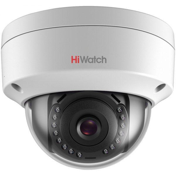 Фото 1 - HiWatch DS-I102. Уличная вандалостойкая 720p купольная IP-камера.
