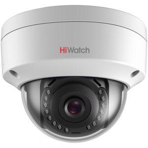Фото 5 - HiWatch DS-I202. Уличная вандалозащищенная 2Мп купольная IP-камера.