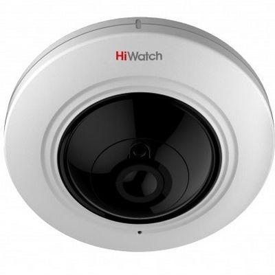 Фото 1 - Высокочувствительная 3Мп IP камера HiWatch DS-I215 c fish-eye объективом.