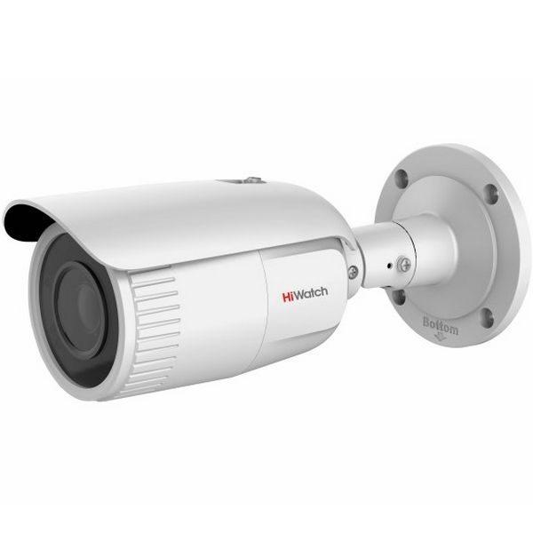 Фото 1 - Уличная цилиндрическая 4 Мп IP камера HiWatch DS-I456 c ИК-подсветкой и вариофокальным объективом.
