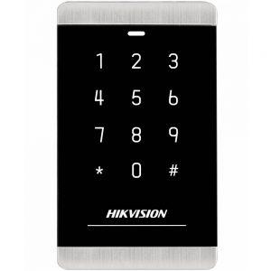 Фото 38 - Уличный считыватель Mifare карт Hikvision DS-K1103MK с сенсорной клавиатурой.