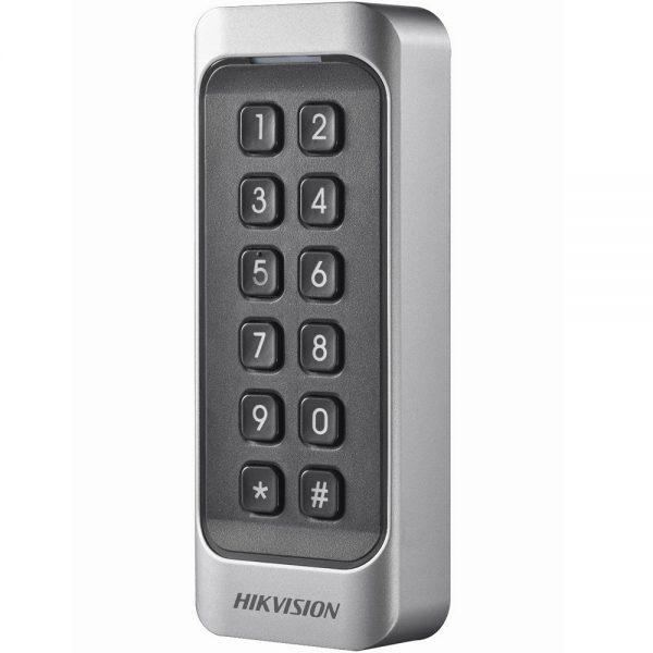 Фото 2 - Считыватель Mifare карт Hikvision DS-K1107MK с механической клавиатурой.