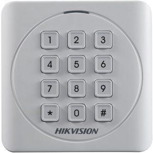 Фото 22 - Считыватель Mifare карт Hikvision DS-K1801MK с механической клавиатурой.