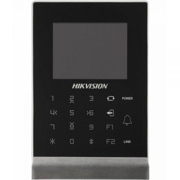 Фото 1 - Терминал контроля доступа Hikvision DS-K1T105M с встроенным считывателем карт Mifare.