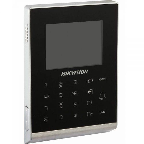 Фото 3 - Терминал контроля доступа Hikvision DS-K1T105M с встроенным считывателем карт Mifare.