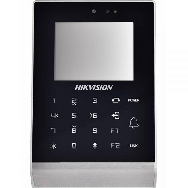 Фото 1 - Терминал контроля доступа Hikvision DS-K1T105M-C с встроенным считывателем карт Mifare и камерой.