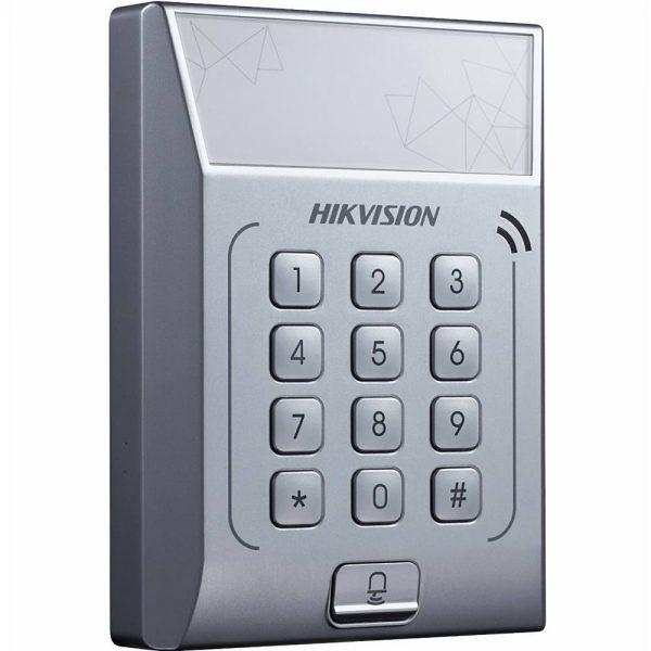 Фото 2 - Терминал контроля доступа Hikvision DS-K1T801M с встроенным считывателем карт Mifare.