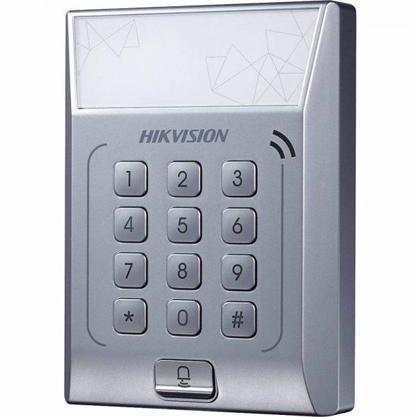 Фото 3 - Терминал контроля доступа Hikvision DS-K1T801M с встроенным считывателем карт Mifare.