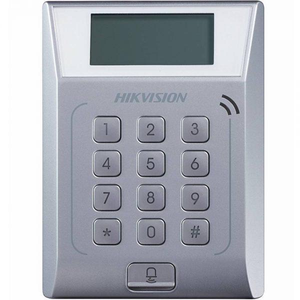 Фото 1 - Терминал контроля доступа Hikvision DS-K1T802E с встроенным считывателем карт EM-Marine.