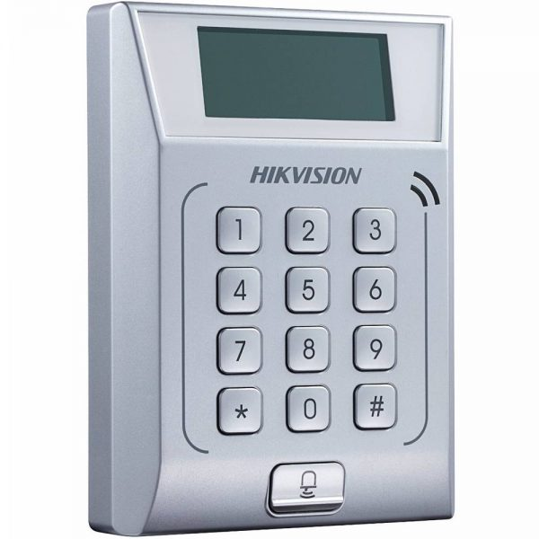 Фото 2 - Терминал контроля доступа Hikvision DS-K1T802E с встроенным считывателем карт EM-Marine.