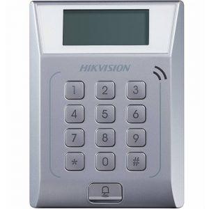 Фото 12 - Терминал контроля доступа Hikvision DS-K1T802M с встроенным считывателем карт Mifare.