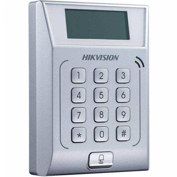 Фото 2 - Терминал контроля доступа Hikvision DS-K1T802M с встроенным считывателем карт Mifare.