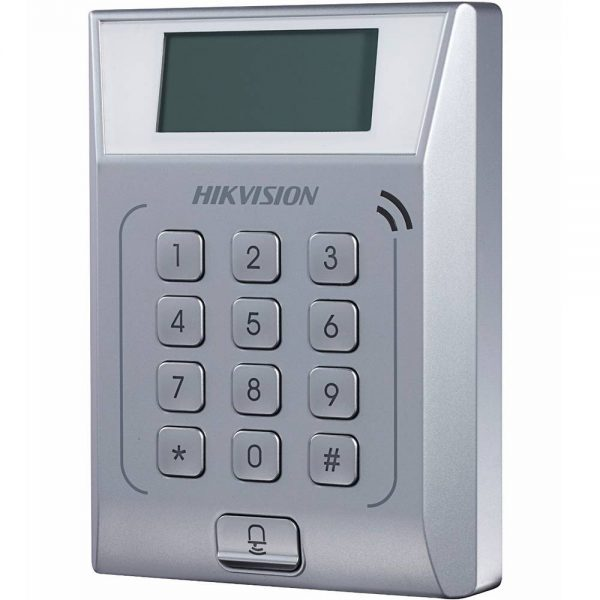 Фото 3 - Терминал контроля доступа Hikvision DS-K1T802M с встроенным считывателем карт Mifare.