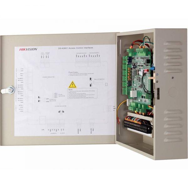 Фото 4 - Сетевой контроллер СКУД Hikvision DS-K2601 для управления одной дверью.