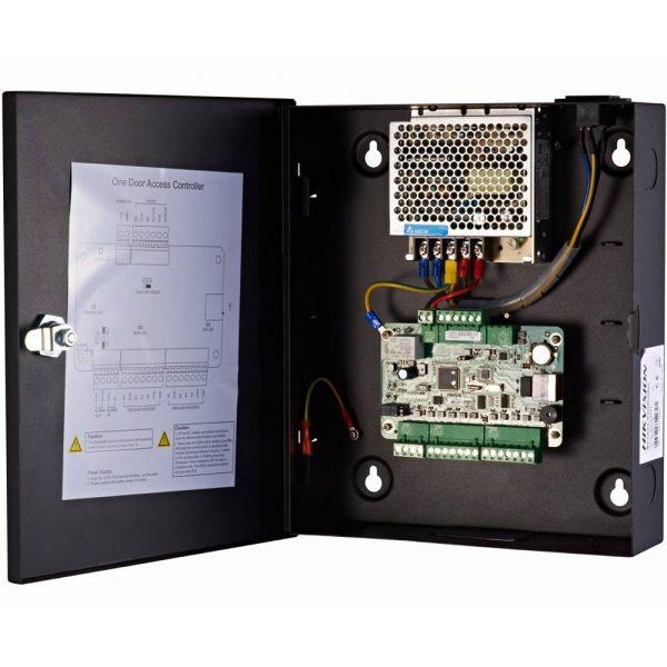 Фото 4 - Сетевой контроллер СКУД Hikvision DS-K2801 для управления одной дверью.