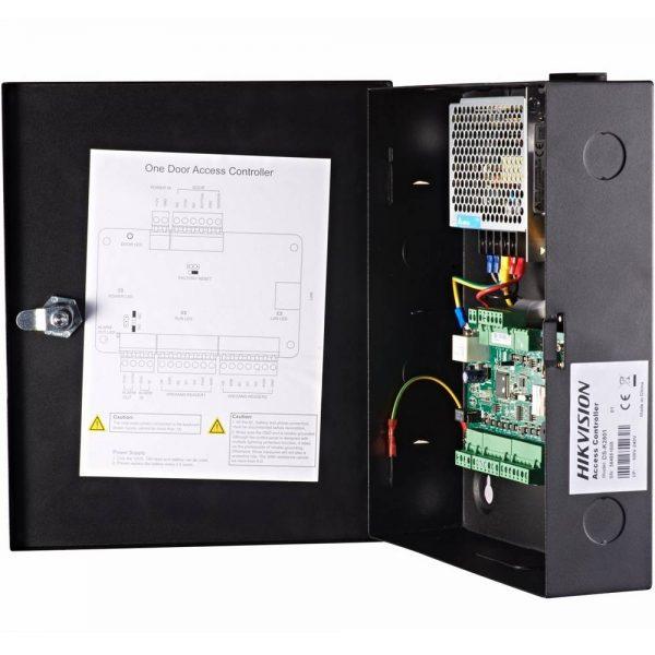 Фото 6 - Сетевой контроллер СКУД Hikvision DS-K2801 для управления одной дверью.