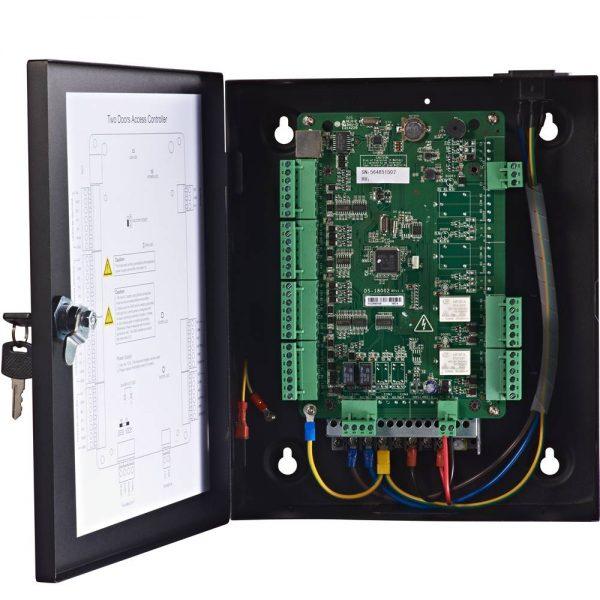 Фото 5 - Сетевой контроллер СКУД Hikvision DS-K2802 для управления 2 дверьми.