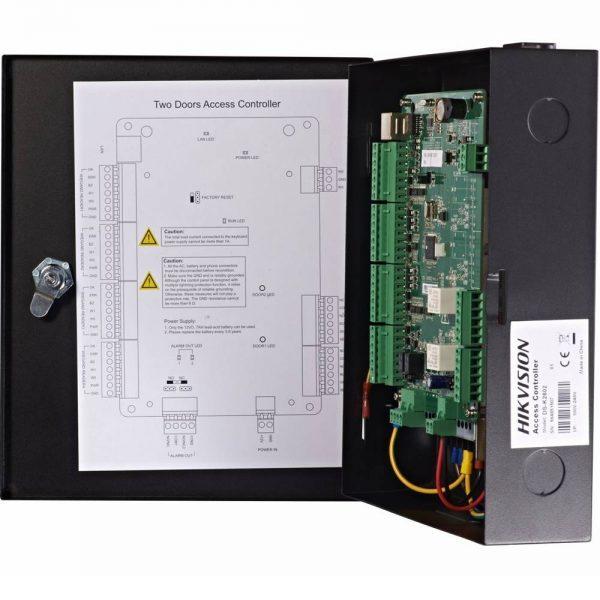 Фото 6 - Сетевой контроллер СКУД Hikvision DS-K2802 для управления 2 дверьми.