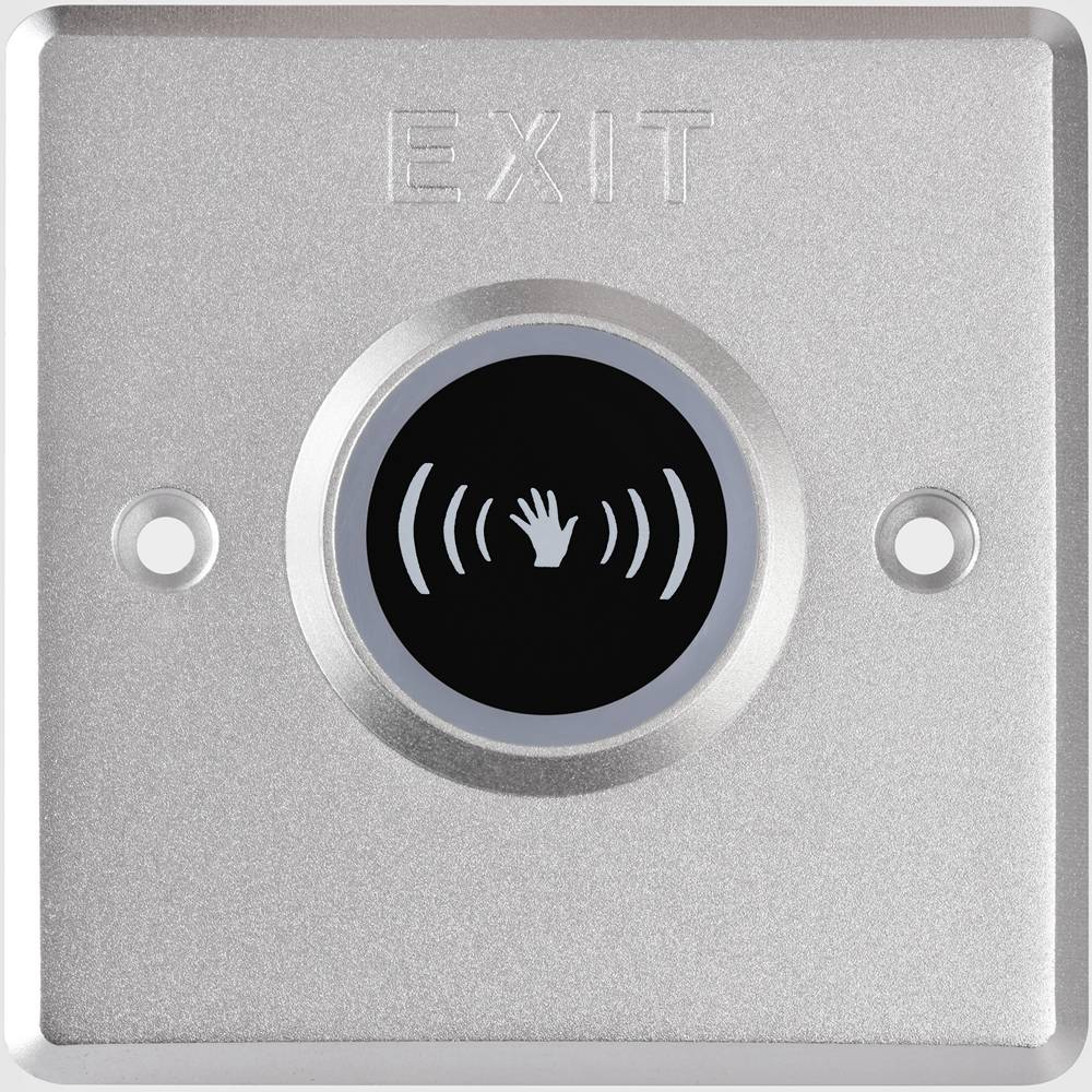Фото 1 - Бесконтактная кнопка выхода Hikvision DS-K7P03.
