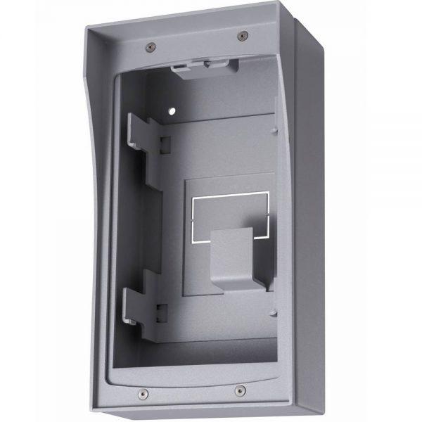 Фото 2 - Монтажное основание Hikvision DS-KAB01 для накладного крепления вызывных панелей.