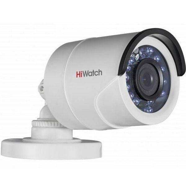 Фото 2 - Уличная миниатюрная HD-TVI камера HiWatch DS-T200P с ИК-подсветкой и питанием по коаксиальному кабелю.