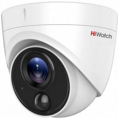 Фото 1 - Уличная компактная HD-TVI камера HiWatch DS-T213 с ИК-подсветкой и PIR датчиком.