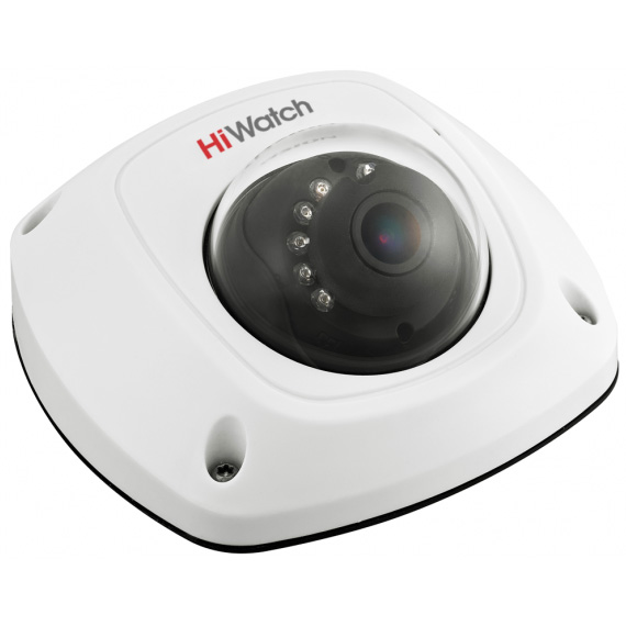 Фото 1 - HiWatch DS-T251. Внутренняя 2Мп мини-купольная HD-TVI камера с ИК-подсветкой.