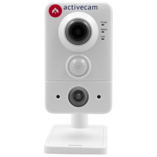 Фото 1 - ActiveCam AC-D7121IR1 + ПО TRASSIR в подарок. Сетевая Cube-камера с ИК-подсветкой, microSD и PIR.