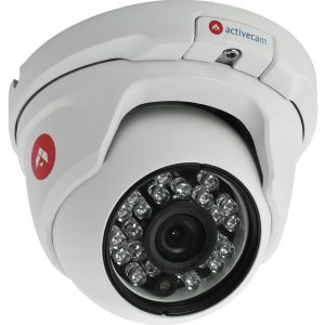 Фото 4 - ActiveCam AC-D8111IR2. Уличная вандалозащищенная IP камера-сфера с ИК-подсветкой.