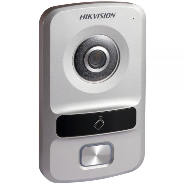 Фото 5 - HikVision DS-KV8102-IP/VP. Уличная IP вызывная панель с встроенной видеокамерой и LED/ИК-подсветкой для систем домофонии.