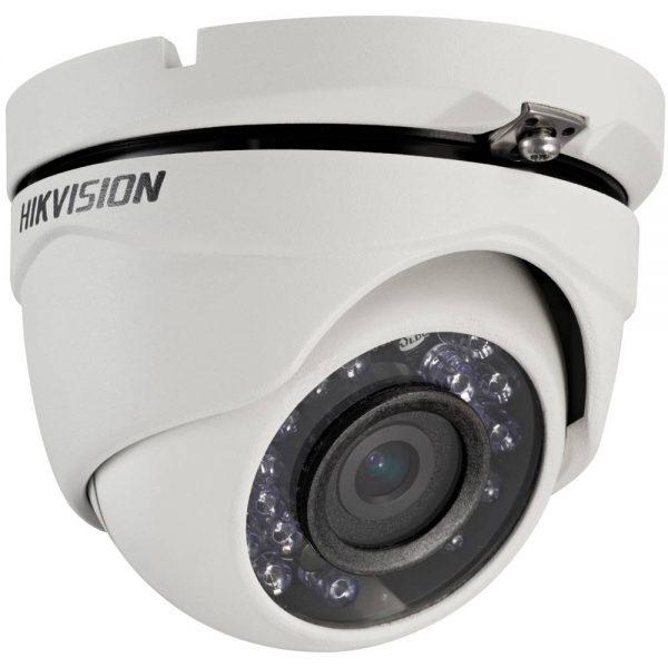Фото 1 - Hikvision DS-2CE56D5T-IRM. Уличная 2Мп HD-TVI камера-сфера с OSD-меню и WDR 120дБ.