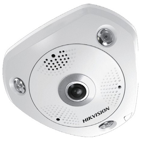 Фото 3 - HikVision DS-2CD63C2F-IVS + ПО TRASSIR в подарок. Уличная 12Мп сетевая FishEye-камера с ИК-подсветкой.
