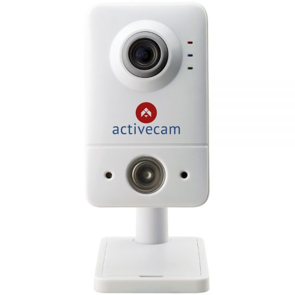Фото 1 - ActiveCam AC-D7111IR1W. Внутренняя бюджетная сетевая Cube-камера с Wi-Fi и ИК-подсветкой.