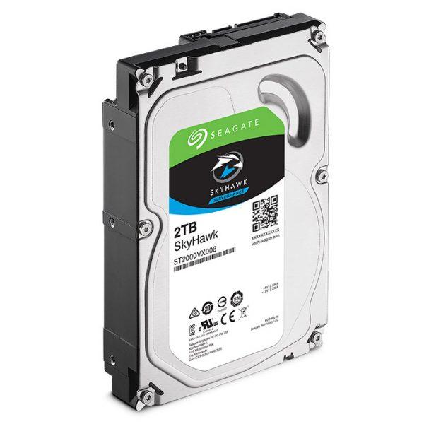 Фото 3 - Seagate ST2000VX008. Жесткий диск 2 ТБ серии SkyHawk для систем видеонаблюдения на базе TRASSIR.