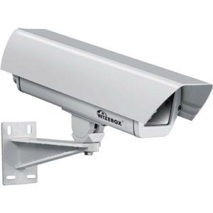 Фото 94 - Wizebox SVS26P. Термокожух со встроенным обогревателем,  размораживателем входного стекла, солнцезащитным козырьком и настенным кронштейном для камер видеонаблюдения..
