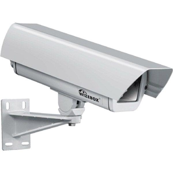 Фото 1 - Wizebox SVS26P. Термокожух со встроенным обогревателем,  размораживателем входного стекла, солнцезащитным козырьком и настенным кронштейном для камер видеонаблюдения..