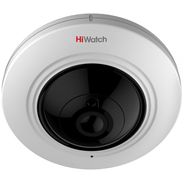 Фото 1 - HiWatch DS-T501. 5Мп HD-TVI камера с FishEye-объективом, с аудио и EXIR-подсветкой.