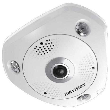 Фото 3 - HikVision DS-2CD6332FWD-IVS + ПО TRASSIR в подарок. Уличная 3Мп сетевая FishEye-камера с ИК-подсветкой и WDR 120 дБ.