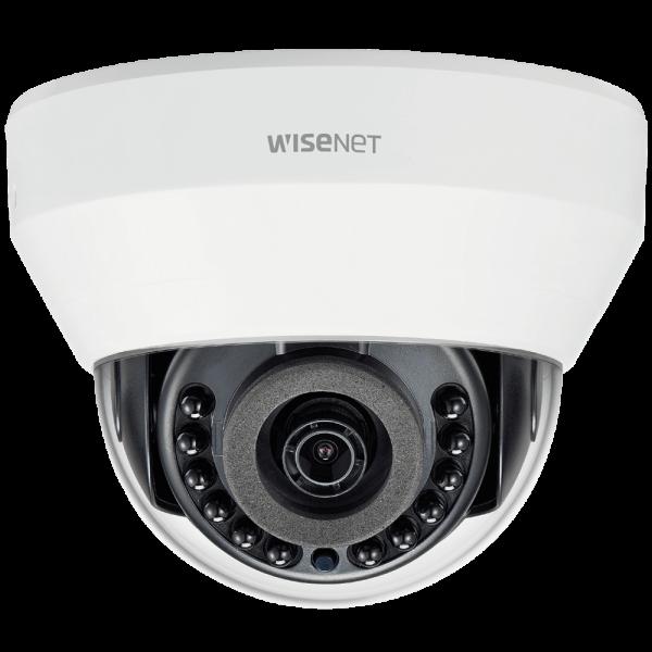 Фото 1 - IP-камера видеонаблюдения Wisenet LND-6010R с WDR 120 дБ и ИК-подсветкой.