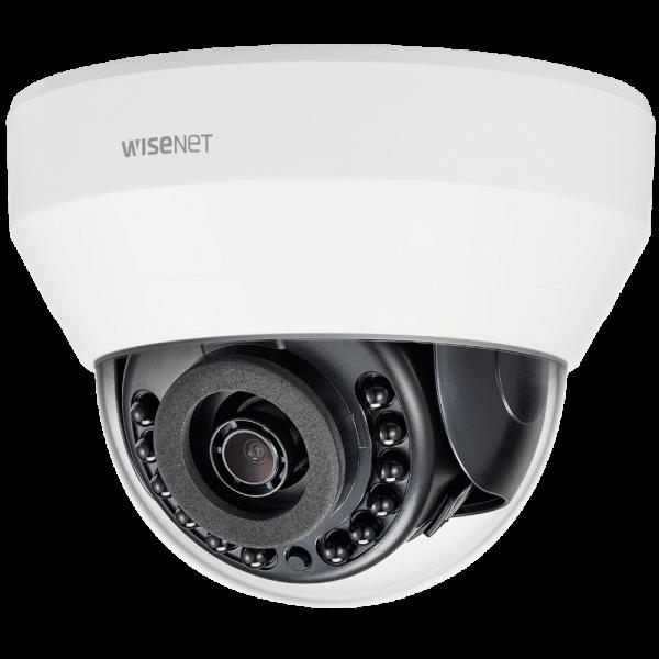 Фото 2 - IP-камера видеонаблюдения Wisenet LND-6020R с WDR 120 дБ и ИК-подсветкой.