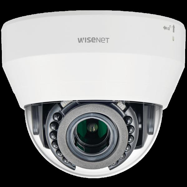 Фото 1 - IP-камера видеонаблюдения Wisenet LND-6070R, вариообъектив, WDR 120 дБ, ИК-подсветка, ПО Trassir в подарок.