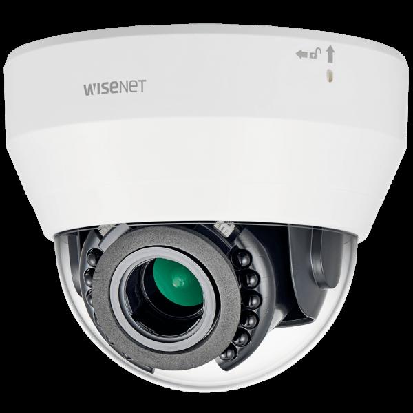 Фото 2 - IP-камера видеонаблюдения Wisenet LND-6070R, вариообъектив, WDR 120 дБ, ИК-подсветка, ПО Trassir в подарок.