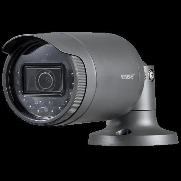 Фото 1 - Уличная IP-камера Wisenet LNO-6020R с WDR 120 дБ и ИК-подсветкой.