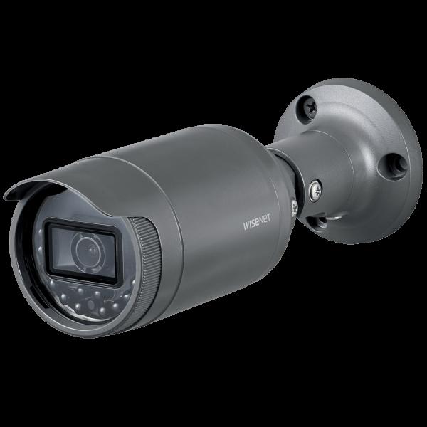 Фото 2 - Уличная IP-камера Wisenet LNO-6020R с WDR 120 дБ и ИК-подсветкой.